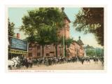 Convention Hall, Saratoga, New York Poster
