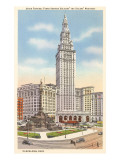 Terminal Tower, Cleveland, Ohio Prints