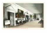 Interior, Independence Hall, Philadelphia, Pennsylvania Prints