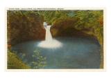 Punch Bowl, Eagle Creek, Columbia River, Oregon Kunstdrucke