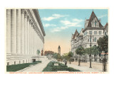 Washington Avenue, Albany, New York Prints