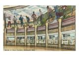 Interior of Union Terminal, Cincinnati, Ohio Poster
