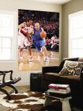 Dallas Mavericks v Portland Trail Blazers - Game Three, Portland, OR - APRIL 21: Jason Kidd and And Wall Mural by Sam Forencich