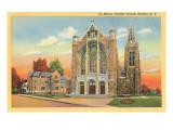 St. Mary's Catholic Church, Hudson, New York Prints