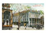 Worden Hotel, Saratoga Springs, New York Prints
