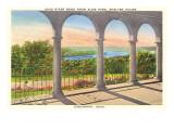 Ohio River from Alms Park, Cincinnati, Ohio Posters