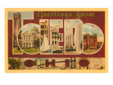 Greetings from Toledo, Ohio Prints