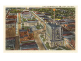 Civic Center, Oklahoma City, Oklahoma Print