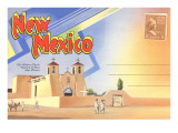 Postcard Folder, New Mexico Prints