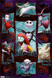 Nightmare Before Christmas - Grid Prints