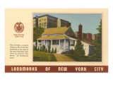 Landmarks of New York City, Poe's Cottage Posters