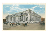 General Post Office, New York City Print
