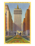 Park Avenue, New York Central Building,  New York City Affiches