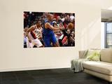 Dallas Mavericks v Portland Trail Blazers - Game Three, Portland, OR - APRIL 21: Jason Kidd, Andre  Wall Mural by Jonathan Ferrey