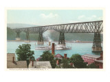 Bridge, Poughkeepsie, New York Prints