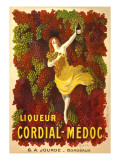 Advertisement for Liqueur Cordial-Medoc Print