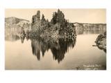 Phantom Ship, Crater Lake, Oregon Prints