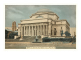 Library, Columbia University, New York City Print