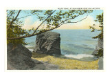 Pulpit Rock, Lake Erie, New York Prints