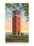 Miller Bell Tower, Chautauqua, New York Prints