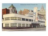 Greyhound Bus Station, Cincinnati, Ohio Reprodukcje