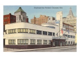 Greyhound Bus Station, Cincinnati, Ohio Poster