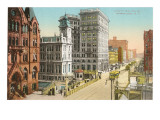 South Salina Street, Syracuse, New York Prints