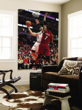 Miami Heat v Chicago Bulls - Game Two, Chicago, IL - MAY 18: Carlos Boozer and Chris Bosh Wall Mural by Gregory Shamus