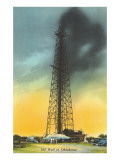 Spurting Oil Well, Oklahoma Prints