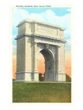 Memorial Arch, Valley Forge, Pennsylvania Posters