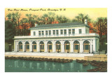 Boat House, Prospect Park, Brooklyn, New York City Posters