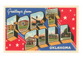 Greetings from Fort Sill, Oklahoma Posters