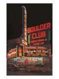 Boulder Club, Nevada Poster