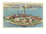 Statue of Liberty, Bedloe's Island, New York City Posters