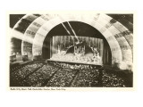 Stage, Radio City Music Hall, New York City Prints