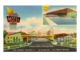 Sombrero Motel, Las Vegas,  Nevada Affiches
