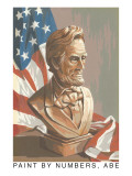 Paint by Numbers, Abraham Lincoln Art