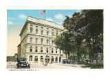 Masonic Temple, Elmira, New York Posters