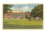 Colonnade Building, Chautauqua, New York Print