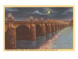 Market Street Bridge, Harrisburg, Pennsylvania Poster