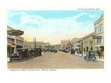 Commercial Street, Astoria, Oregon Print