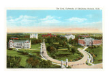 The Oval, University of Oklahoma, Norman Art