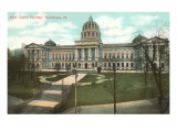 State Capitol, Harrisburg, Pennsylvania Prints
