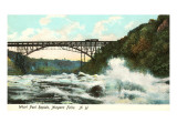 Bridge over Whirlpool Rapids, Niagara Falls Poster