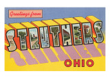 Greetings from Struthers, Ohio Prints