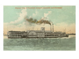 Steamer between Louisville and Cincinnati, Ohio Posters
