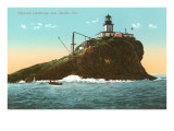 Tillamook Lighthouse, Seaside, Oregon Prints