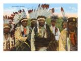 Oklahoma Indians Prints