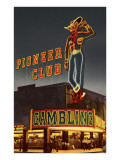 Neon, Pioneer Club, Las Vegas, Nevada Prints