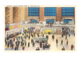 Interior, Grand Central Station, New York City Posters